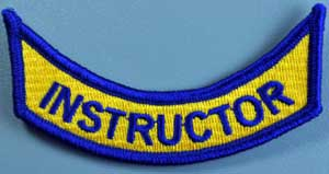 Virginia Instructor Rocker Patch