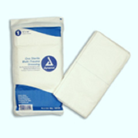 Multi-Trauma Dressing 12x30 Sterile - 50 dressings/case
