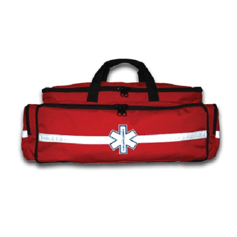 Large EMS O2 Duffle Red