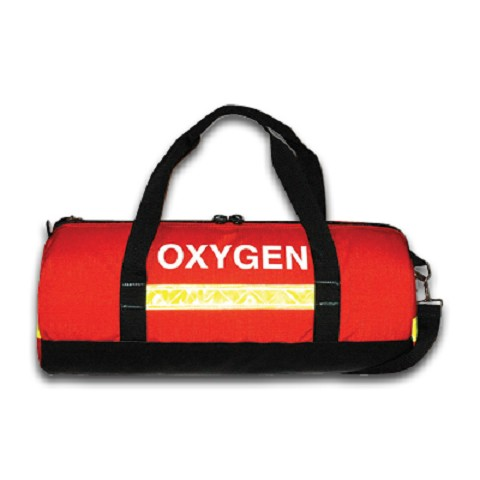 Oxygen Admin Duffle Kit Orange Filled