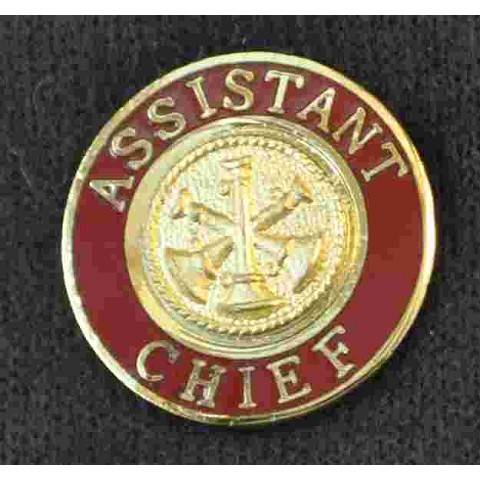 Assistant Fire Chief Uniform Pin