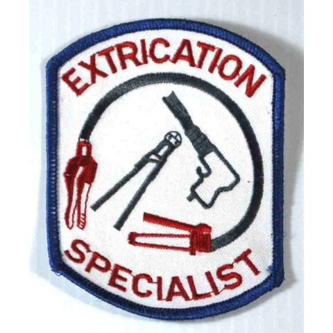 Extrication Specialist Embroidered Patch