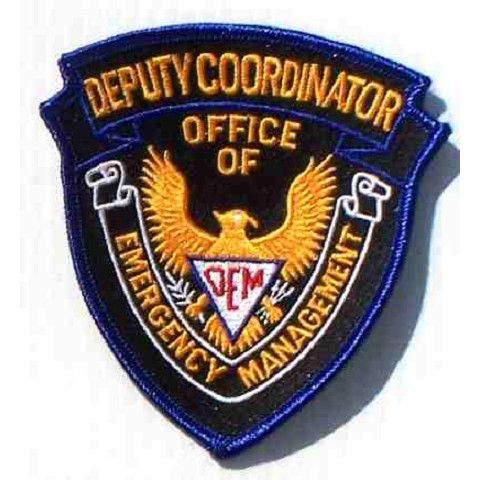 OEM Deputy Coordinator Embroidered Patch