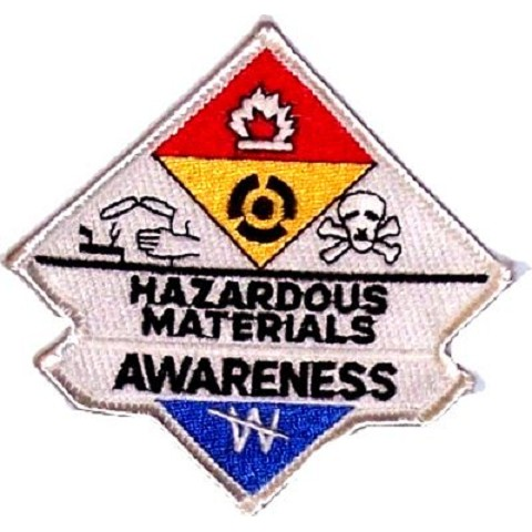 Hazmat Awareness Patch