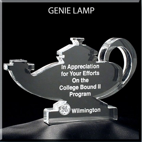 Nursing Lamp Award - Large 6x6