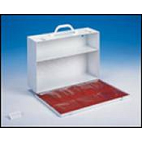 2 Shelf Industrial First Aid Cabinet with Swing Door 14.75 in x 10.25 in x 4.625in - 1 each
