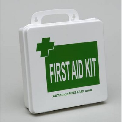 OSHA/ANSI Office First Aid Kit Class B Plastic Case