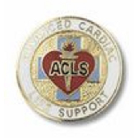 Advanced Cardiac Life Support Pin ACLS
