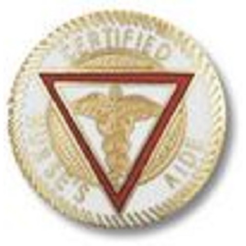 Certified Nurses' Aide Emblem Pin
