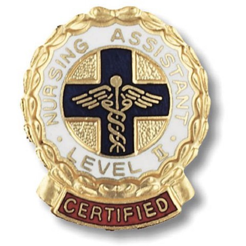 Certified Nursing Assistant Level II Emblem Pin