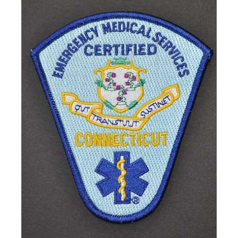 Connecticut Certified EMS Patch