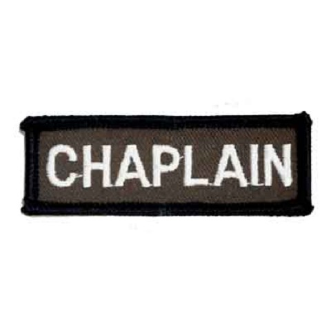 Chaplain Bar 1 x 3 Brown Patch
