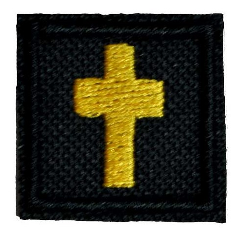 Cross Patch 1 Inch Square