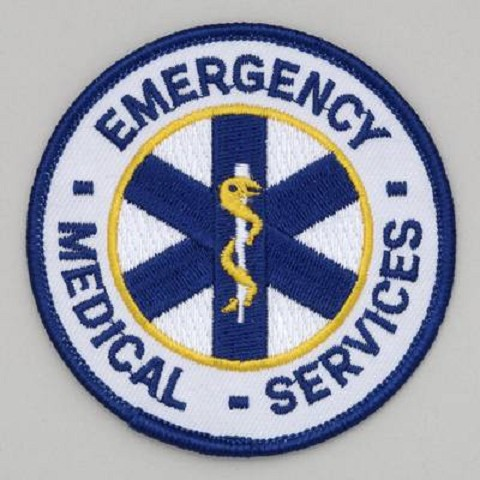 Embroidered Patch - EMS
