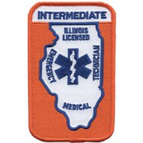 Illinois Intermediate EMT Patch