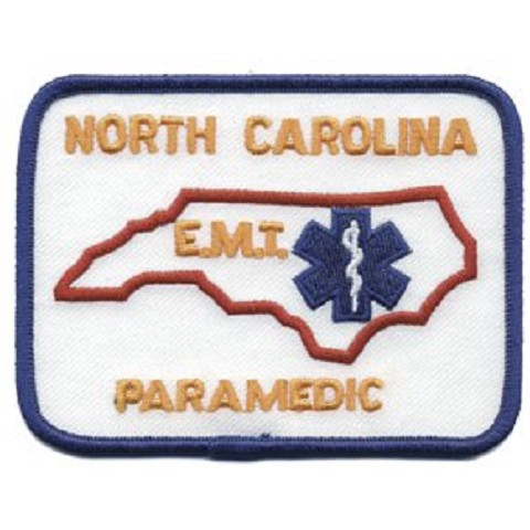 North Carolina Paramedic Patch