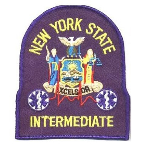 New York EMT-Intermediate Patch