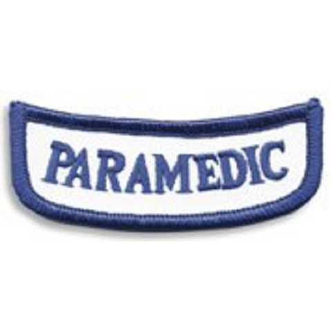 Georgia PARAMEDIC Rocker Patch