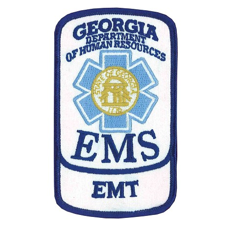 Georgia EMT Patch