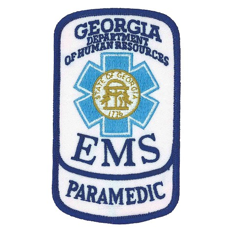 Georgia Paramedic Patch