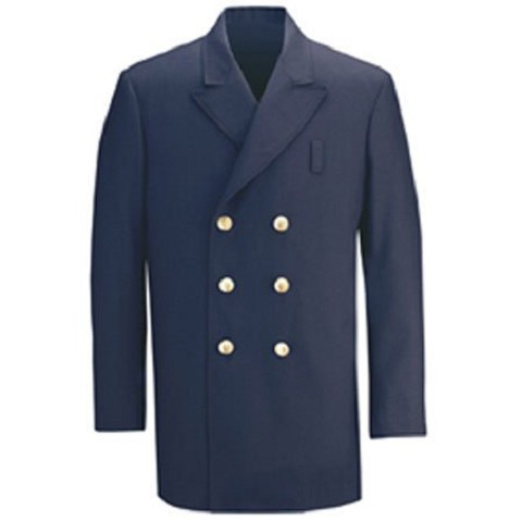 Fire Dept Double Breasted Blouse Coat