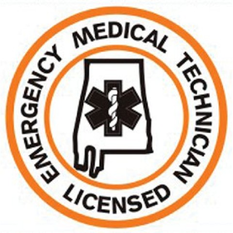 Alabama EMT Licensed Patch