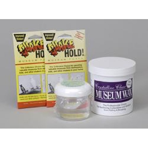 Double Museum Set -  Museum Wax, Putty and Gel