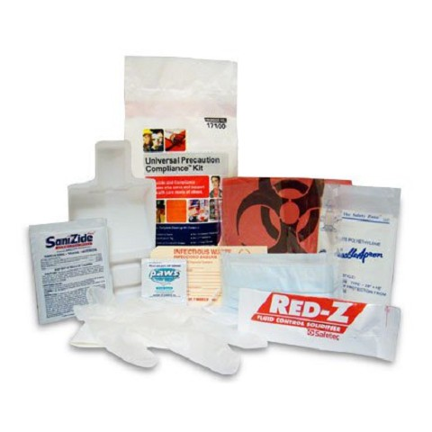 Precaution Kit Combination Protection-Clean-up Kit - hard box
