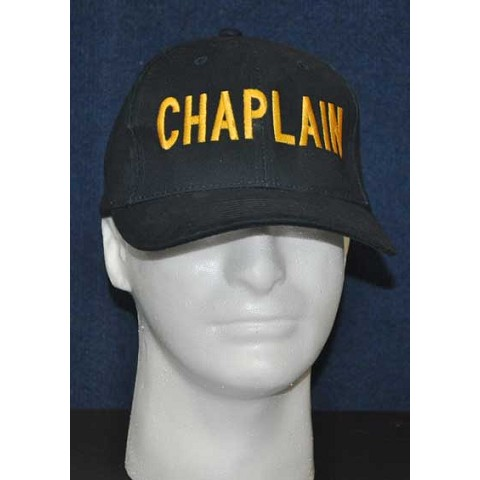 Embroidered Chaplain Ball Cap