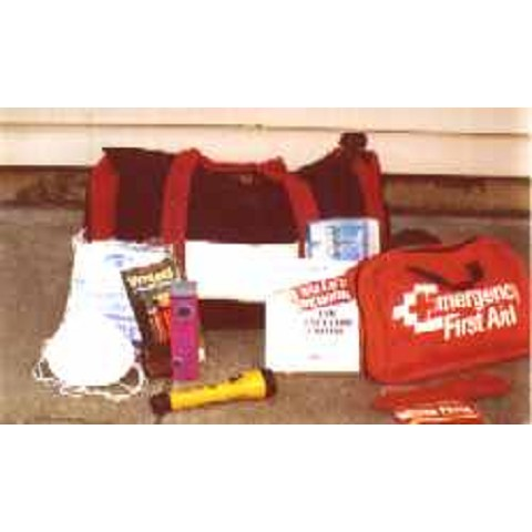 SafetyStore Family Emergency Preparedness Kit 72 hour kit