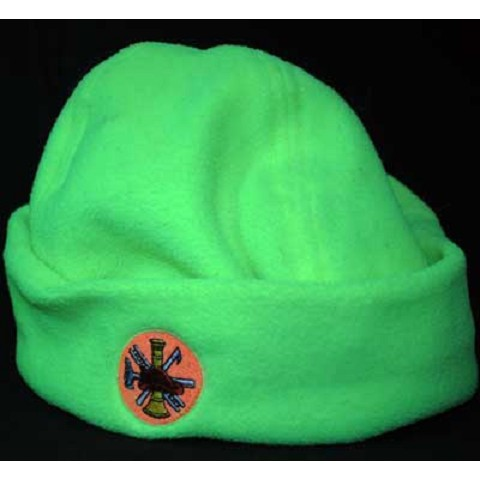 Hi-viz Micro Fleece Fire Scramble Cap
