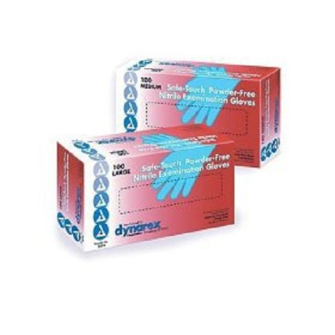 Nitrile Exam Gloves - Powder Free 100-box/10 boxes/case